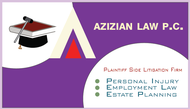 Azizian Law, P.C. Logo - Entry #17