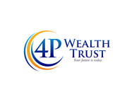 4P Wealth Trust Logo - Entry #249