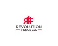 Revolution Fence Co. Logo - Entry #206