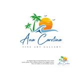 Ana Carolina Fine Art Gallery Logo - Entry #166