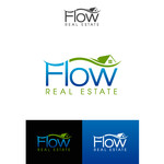 Flow Real Estate Logo - Entry #30