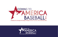 ComingToAmericaBaseball.com Logo - Entry #4