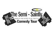 The Semi-Saintly Comedy Tour Logo - Entry #27