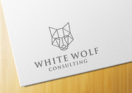 White Wolf Consulting (optional LLC) Logo - Entry #346
