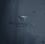 Twisted Turquoise Boutique Logo - Entry #183