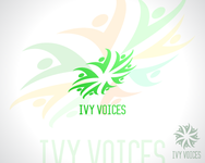 Logo for Ivy Voices - Entry #185