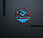 Revolution Roofing Logo - Entry #86