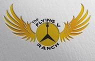 The Flying V Ranch Logo - Entry #60