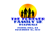 The Forever Family 5K Logo - Entry #10
