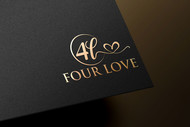 Four love Logo - Entry #287