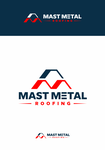 Mast Metal Roofing Logo - Entry #11