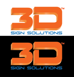3D Sign Solutions Logo - Entry #86