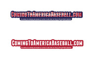 ComingToAmericaBaseball.com Logo - Entry #23