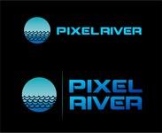 Pixel River Logo - Online Marketing Agency - Entry #215