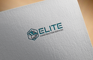 Elite Construction Services or ECS Logo - Entry #111