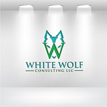 White Wolf Consulting (optional LLC) Logo - Entry #529