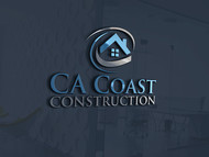 CA Coast Construction Logo - Entry #294