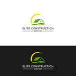 Elite Construction Services or ECS Logo - Entry #308
