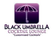 Black umbrella coffee & cocktail lounge Logo - Entry #138