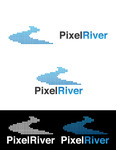 Pixel River Logo - Online Marketing Agency - Entry #3