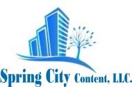 Spring City Content, LLC. Logo - Entry #65