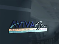 AVIVA Glow - Organic Spray Tan & Lash Logo - Entry #78