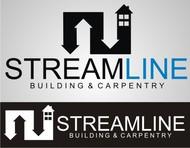 STREAMLINE building & carpentry Logo - Entry #87