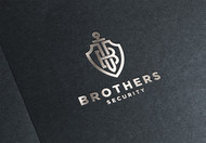 Brothers Security Logo - Entry #215