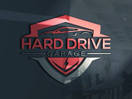 Hard drive garage Logo - Entry #125
