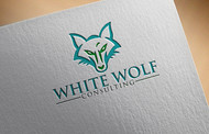 White Wolf Consulting (optional LLC) Logo - Entry #357