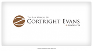 Law Office of Cortright, Evans and Associates Logo - Entry #7