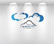 Blue Sky Life Plans Logo - Entry #386