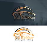 Bill Blokker Spraypainting Logo - Entry #214