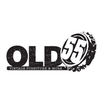 """""""OLD 55"""" - mid-century vintage furniture and wares store Logo - Entry #158"""