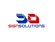 3D Sign Solutions Logo - Entry #154
