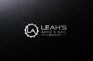 Leah's auto & nail lounge Logo - Entry #106