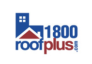 1-800-roof-plus  , i am also going to be using 1800roofplus.com for materials Logo - Entry #23