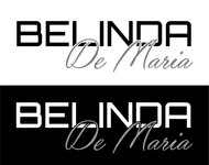 Belinda De Maria Logo - Entry #92