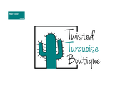 Twisted Turquoise Boutique Logo - Entry #153