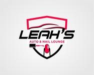 Leah's auto & nail lounge Logo - Entry #170