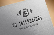 V3 Integrators Logo - Entry #274