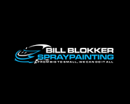 Bill Blokker Spraypainting Logo - Entry #143
