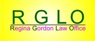 Regina Gordon Law Office  Logo - Entry #17