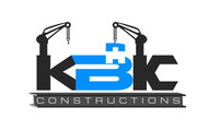 KBK constructions Logo - Entry #124
