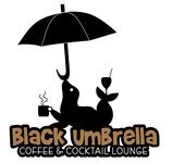 Black umbrella coffee & cocktail lounge Logo - Entry #132