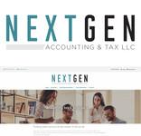 NextGen Accounting & Tax LLC Logo - Entry #480