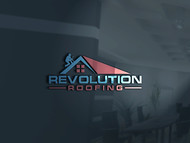 Revolution Roofing Logo - Entry #76