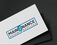 MAIN2NANCE BUILDING SERVICES Logo - Entry #23