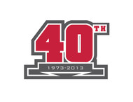 40th  1973  2013  OR  Since 1973  40th   OR  40th anniversary  OR  Est. 1973 Logo - Entry #37