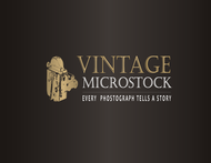 Vintage Microstock Logo - Entry #117